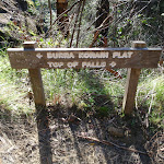 Sign near Top of Falls (50051)