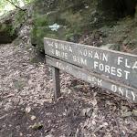 Signpost to Burra Korain Flat