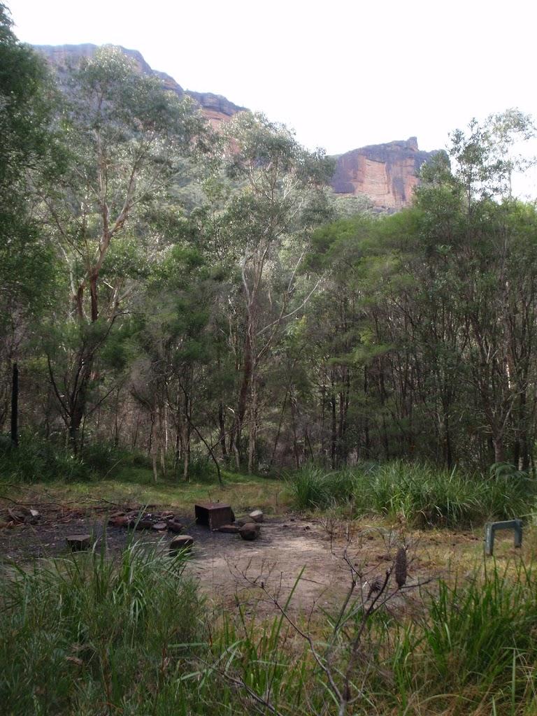 Burra Korain Flats camping area