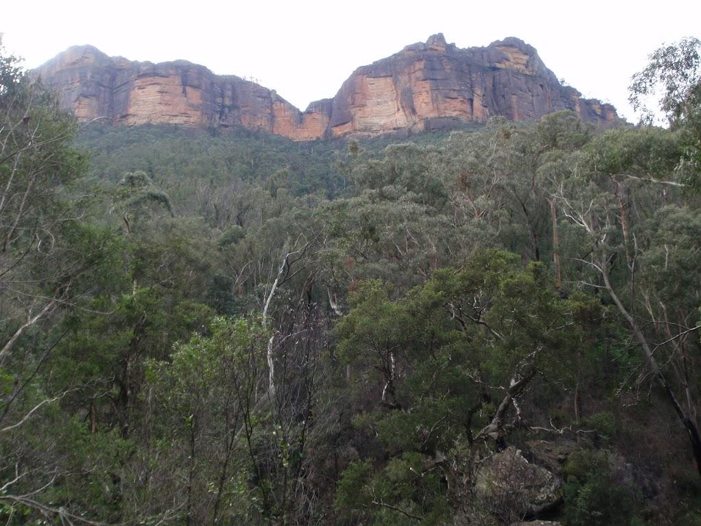 Cliffs above Grose River