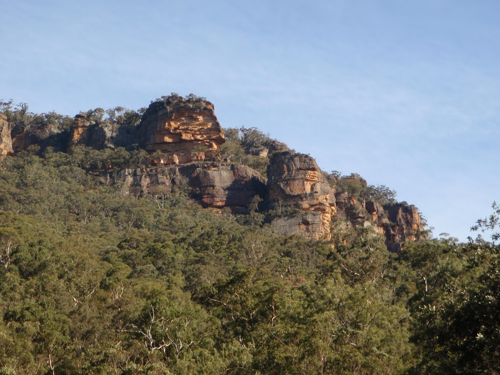 Cliff above the Grose Valley