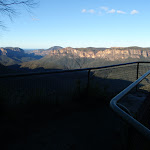 Lookout with cliffs in distance (51179)