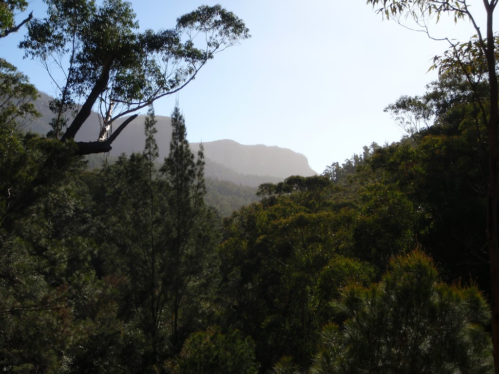 Looking down the Grose Valley
