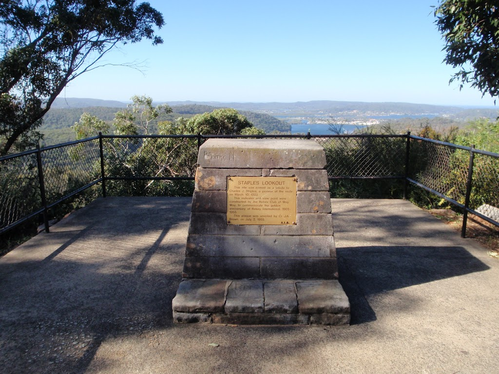 Staples Lookout Plaque (53345)