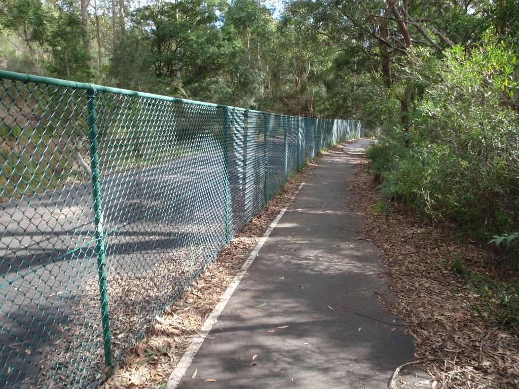 Track to Riverside walk