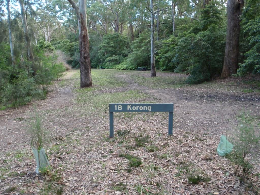 Korong picnic area