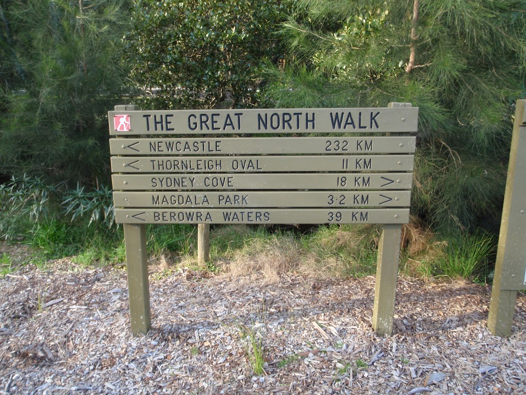 Great North Walk sign