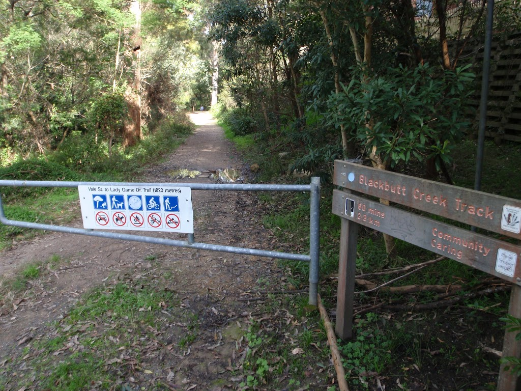 Entrance into the National Park