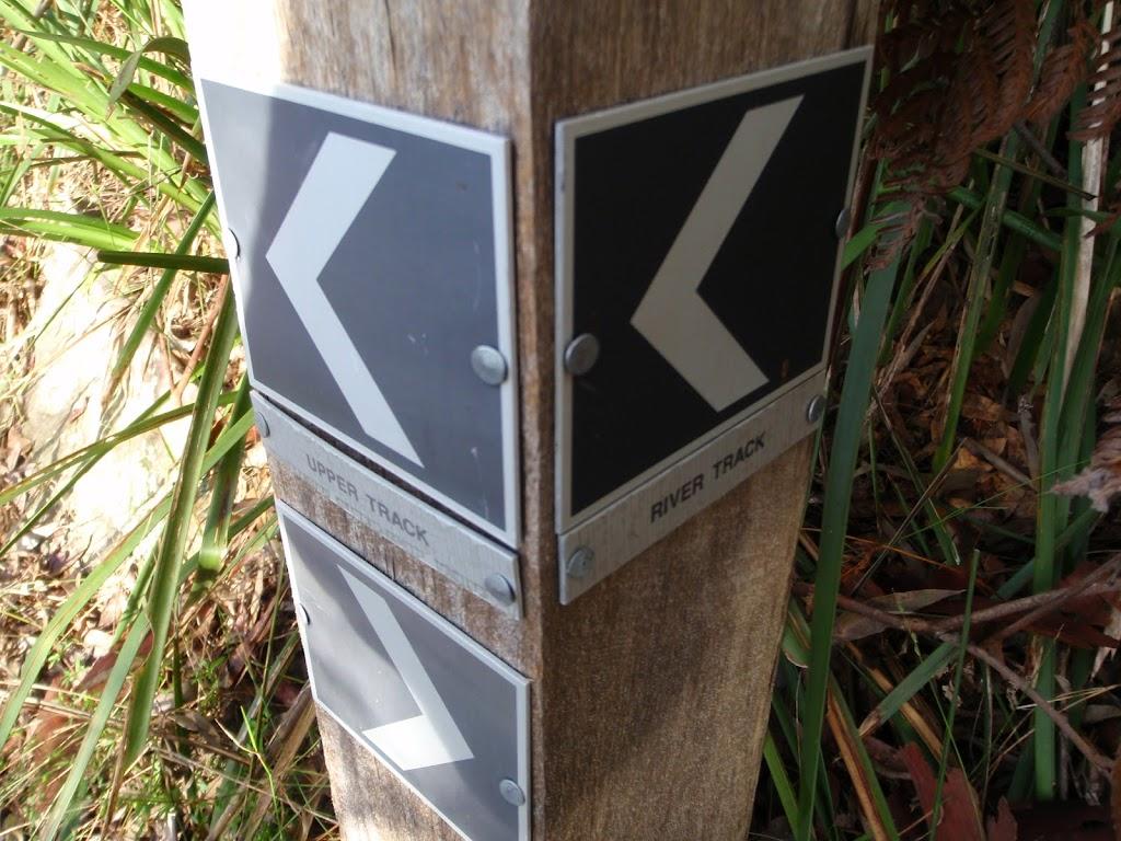 River walk track sign