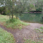 Point on Lane Cove river with nice access