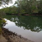 Track near water