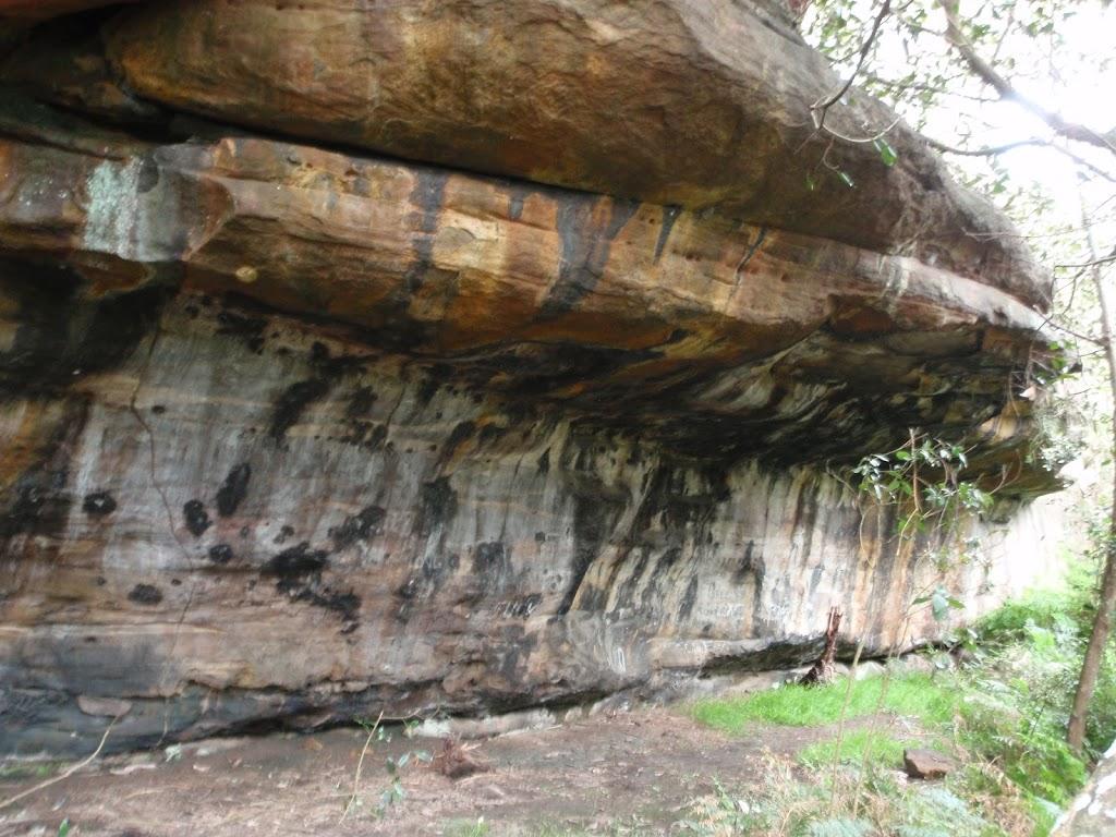 Nice Rock overhang Near Mowbray Park