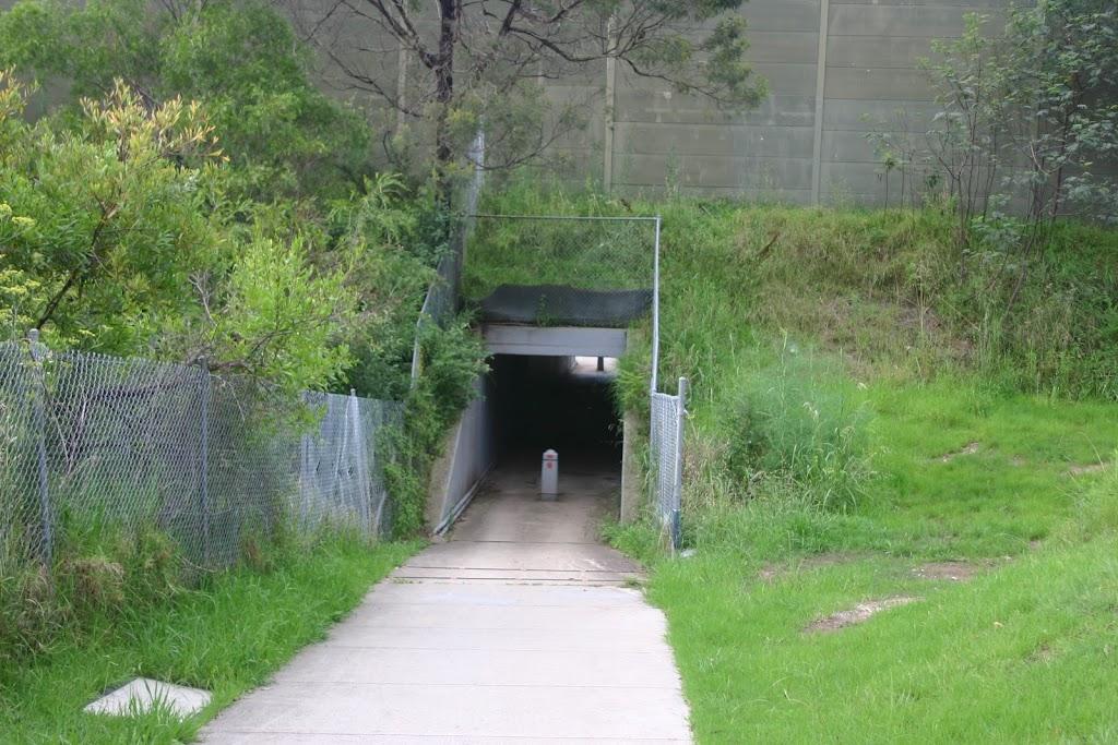 Tunnel under the M2 Motorway
