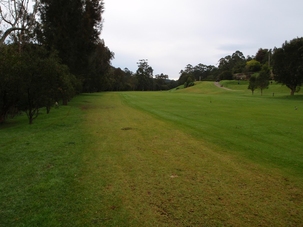 Southern end of fairway