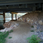 Track under Epping Road Bridge