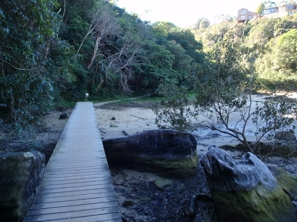 Boardwalk into Fishers Bay