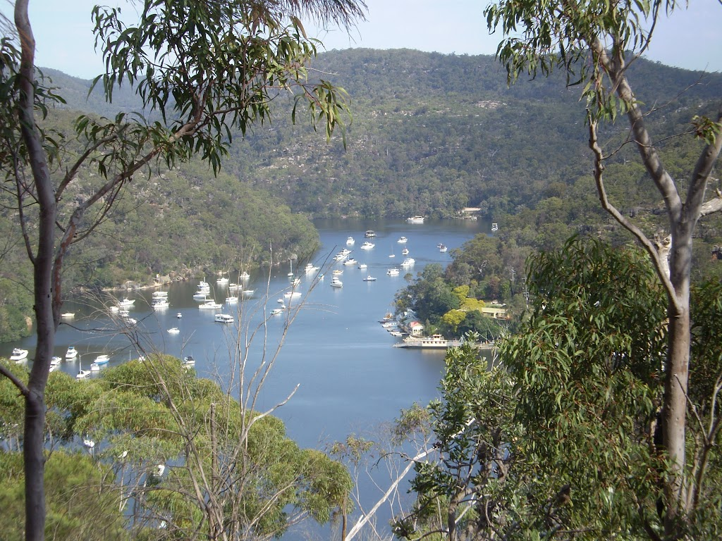 First Hill Looking Down at Berowra Waters (5740)