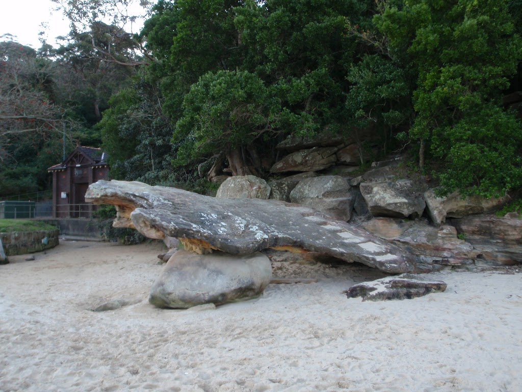 Rock stairs at Northern end of Clifton Gardens