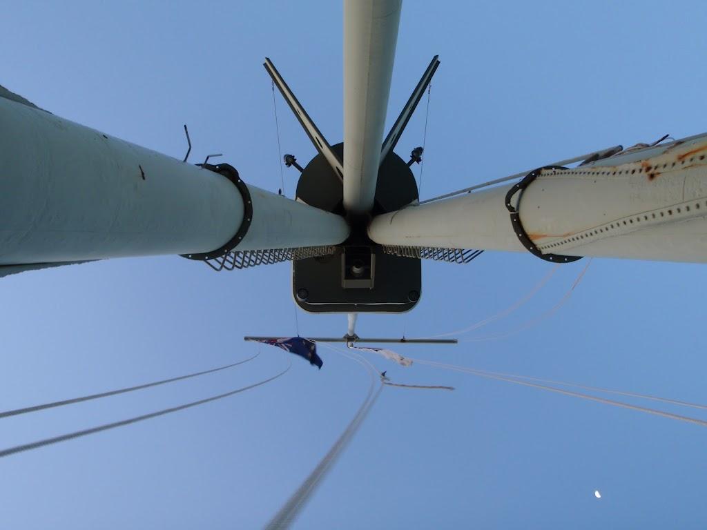 Mast at Bradleys Head
