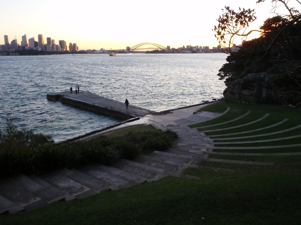 The amphitheater at Bradleys Head