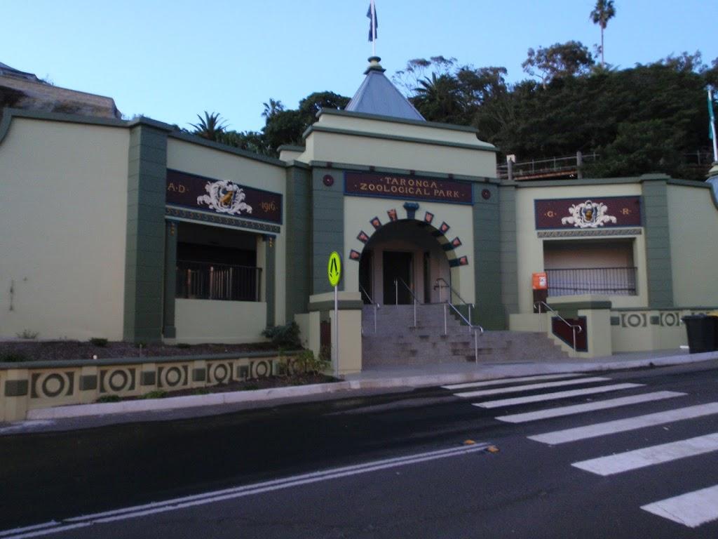 Lower end of Taronga Zoo