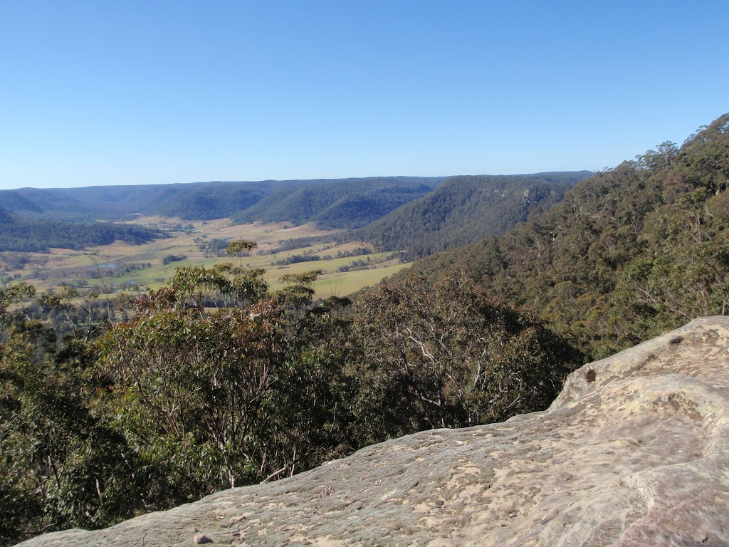 View from Flat Rock Lookout