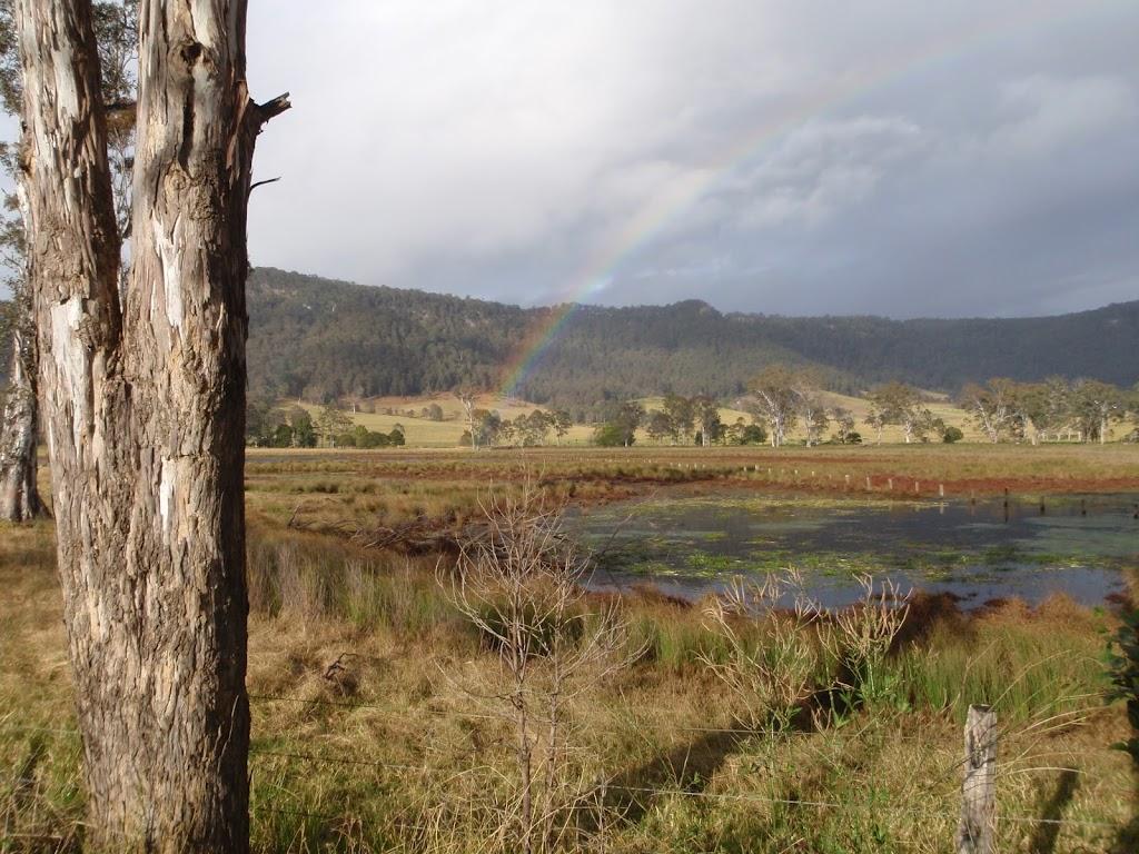 Rainbow from Congewai Valley East trackhead