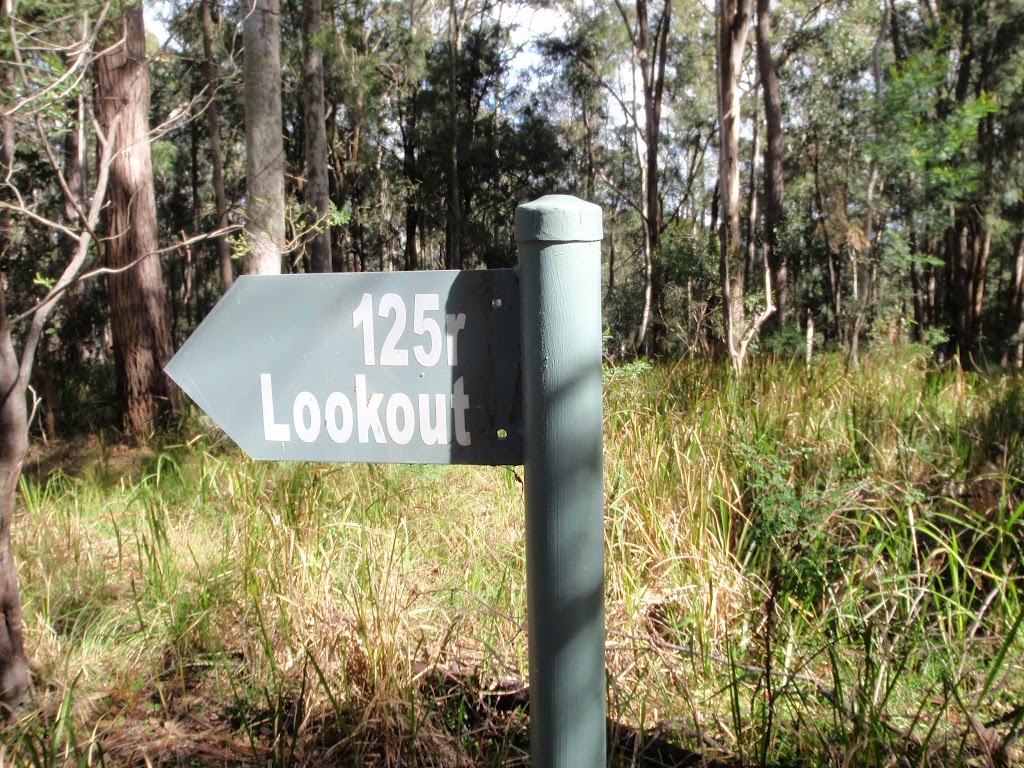 125r lookout track intersection