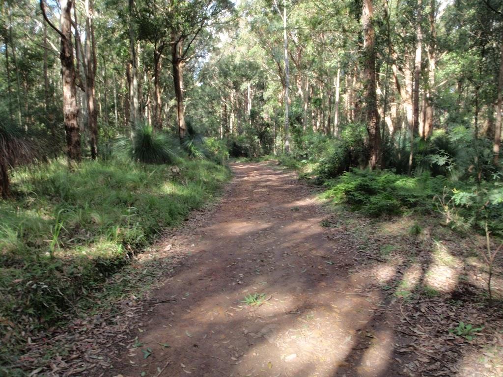 following the dirt roads