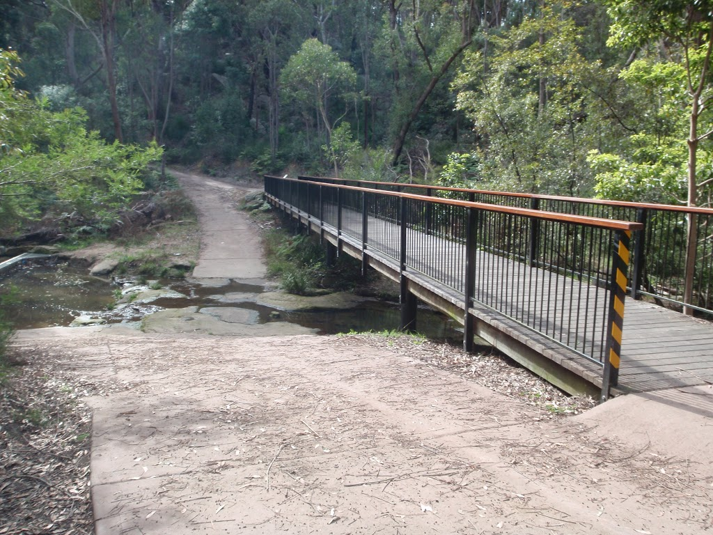 Footbridge crossing (64400)