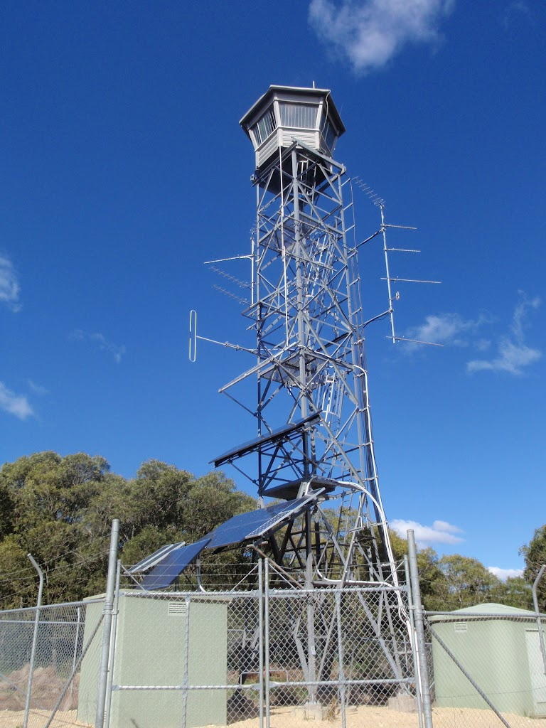 Fire tower on top of Mt Warrawolong