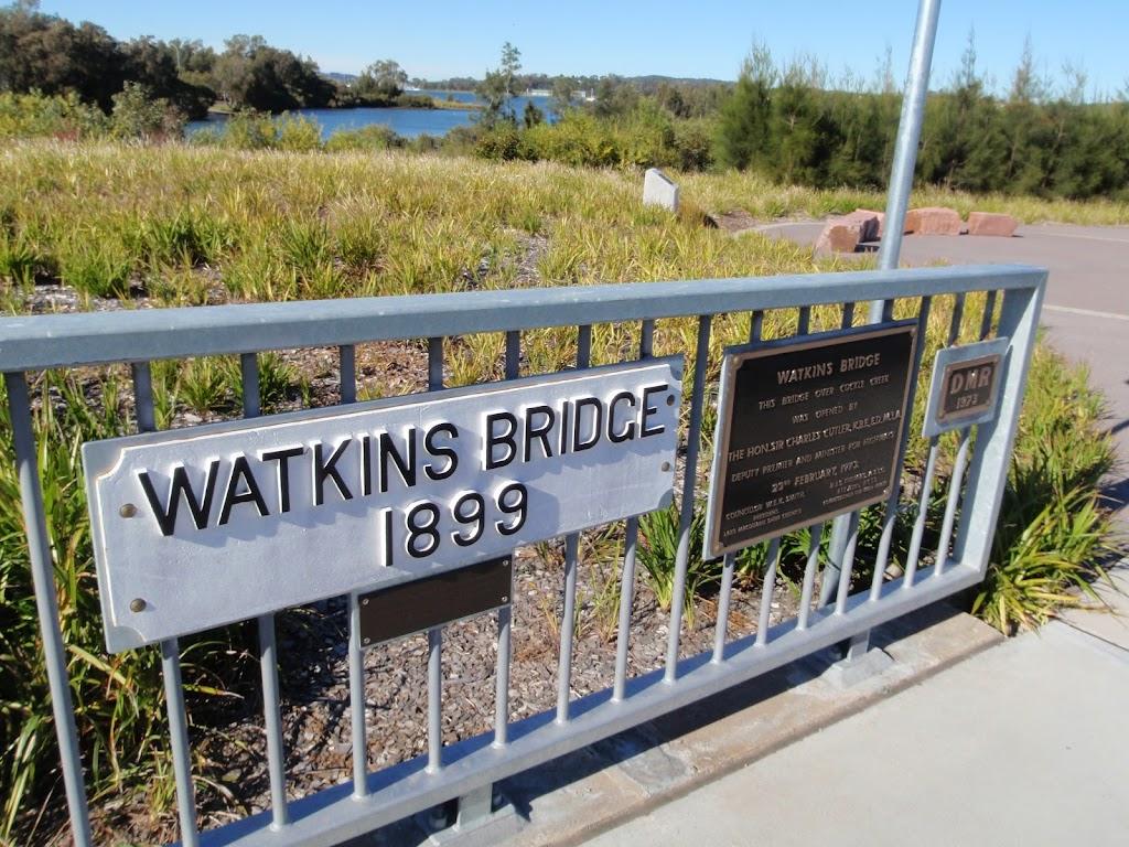 Beautiful views at Watkins Bridge
