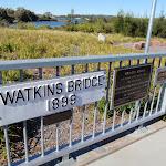 Beautiful views at Watkins Bridge  (65871)