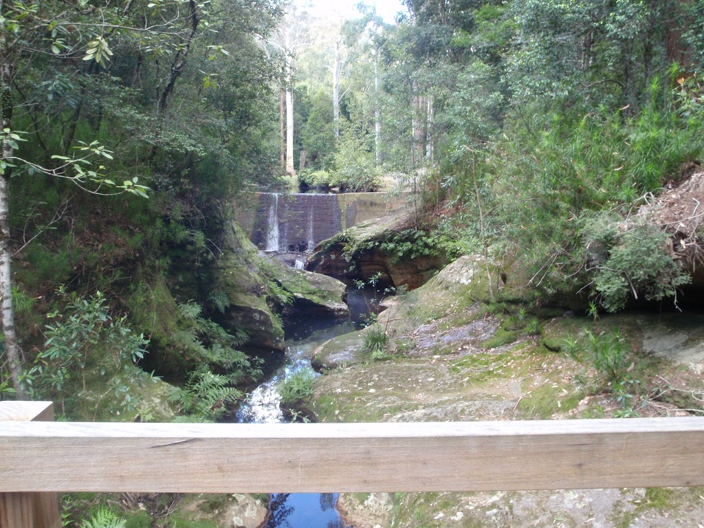 View of Boarding House Dam from bridge