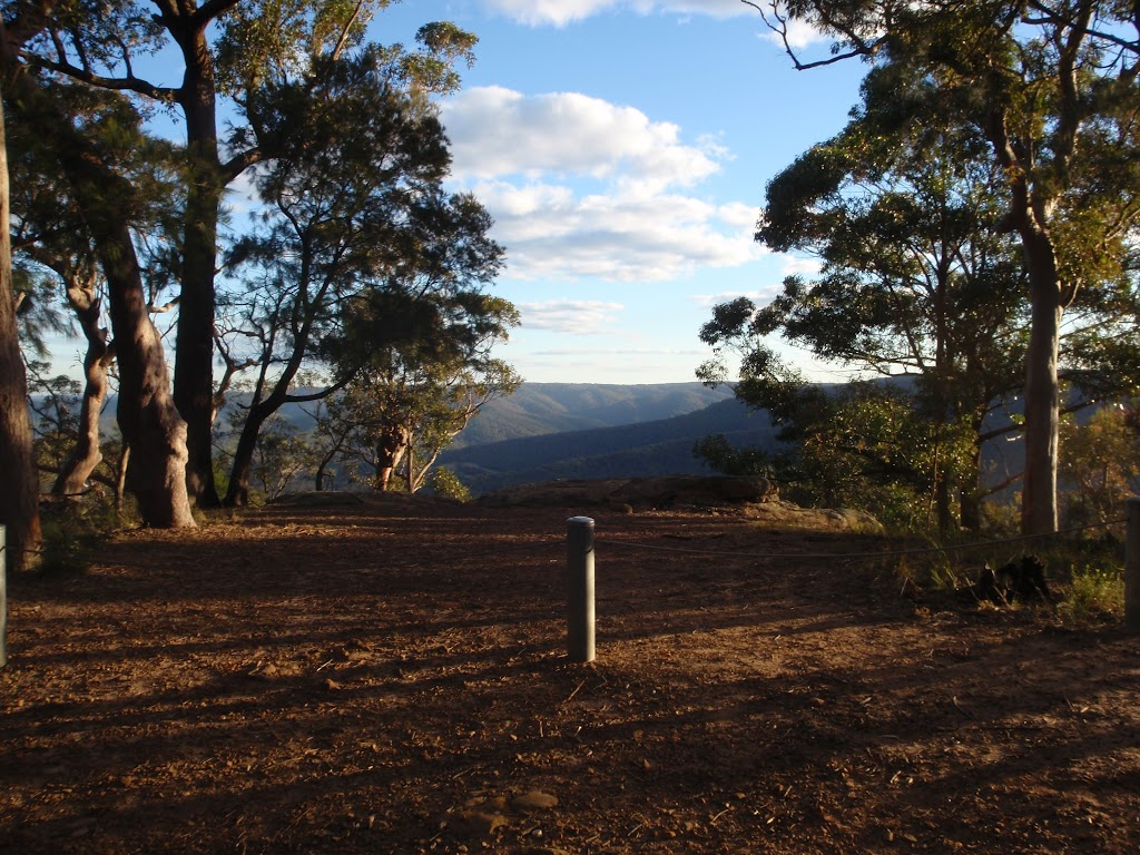 Afternoon view from Monkey Face viewpoint in the Watagans