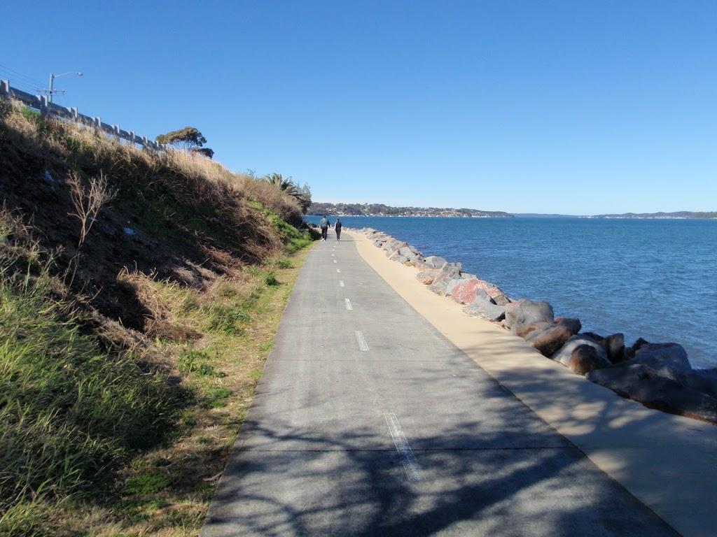 Path around Lake Macquarie