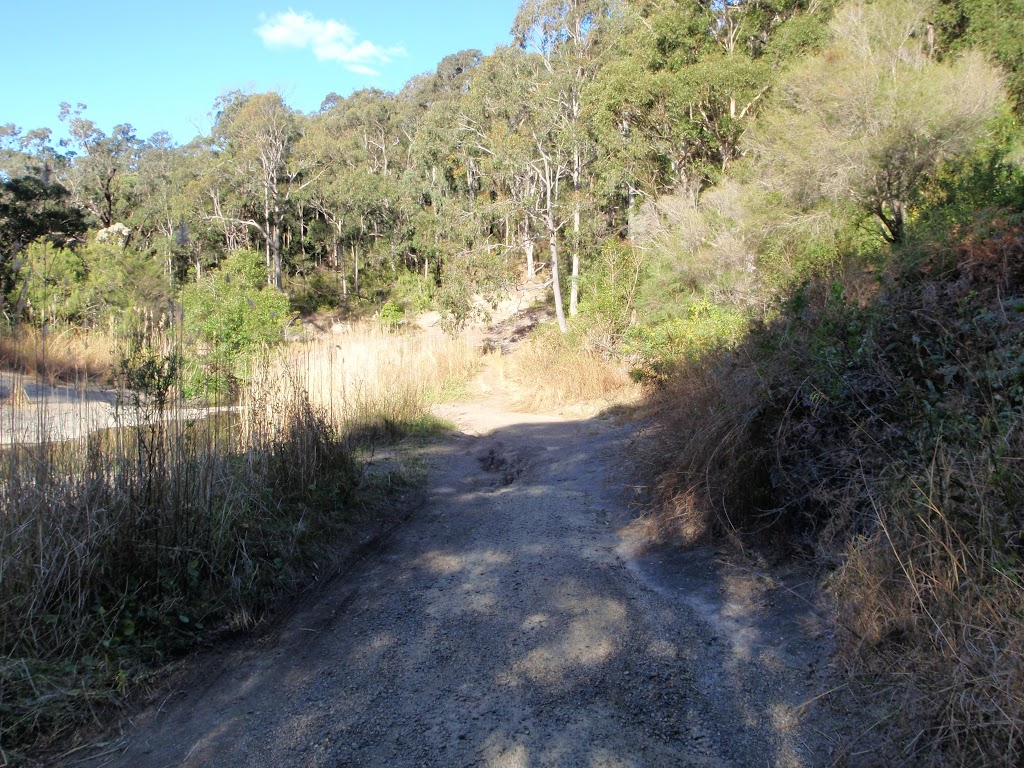 following the bushtrack to the Glenrock scout camp
