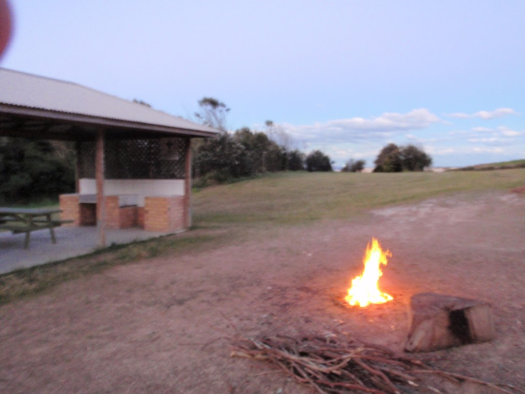 camping at the scout camp