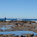 Rock fishing at Merewether (67056)