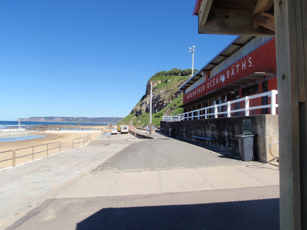 Merewether Baths changing room
