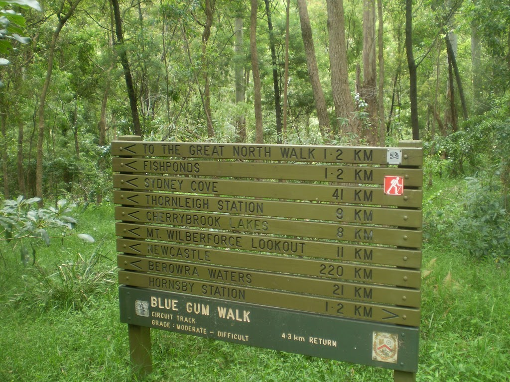 Great North Walk sign (6727)