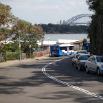 Looking Down road from Lower end of Taronga Zoo (69877)
