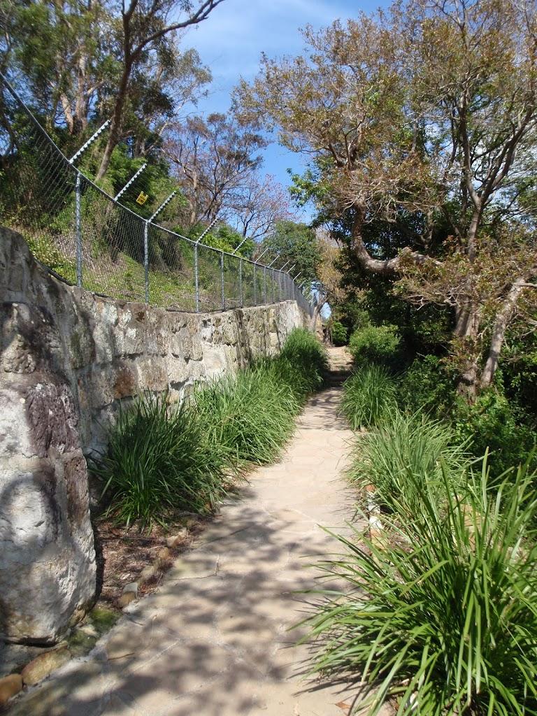 Path below Taronga Zoo