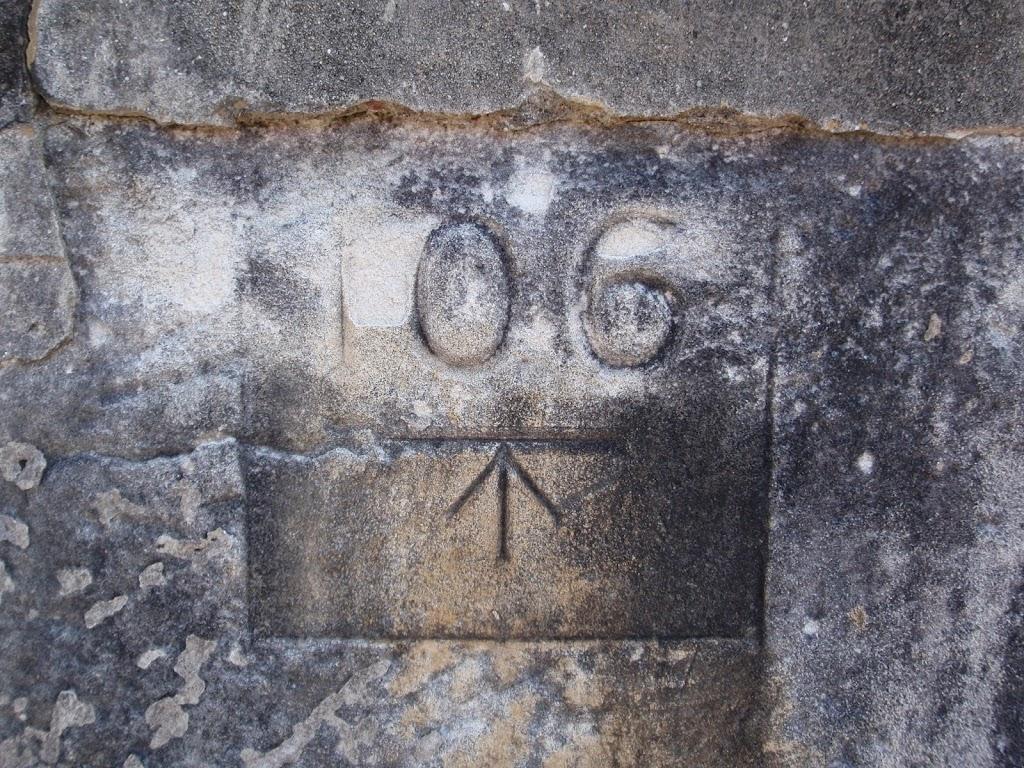 Engravings in fort wall