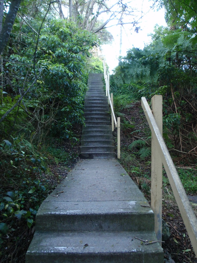 Stairs up to Ogilvy Rd