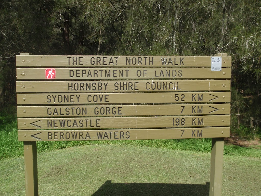 GNW trackhead sign at Crosslands (71296)