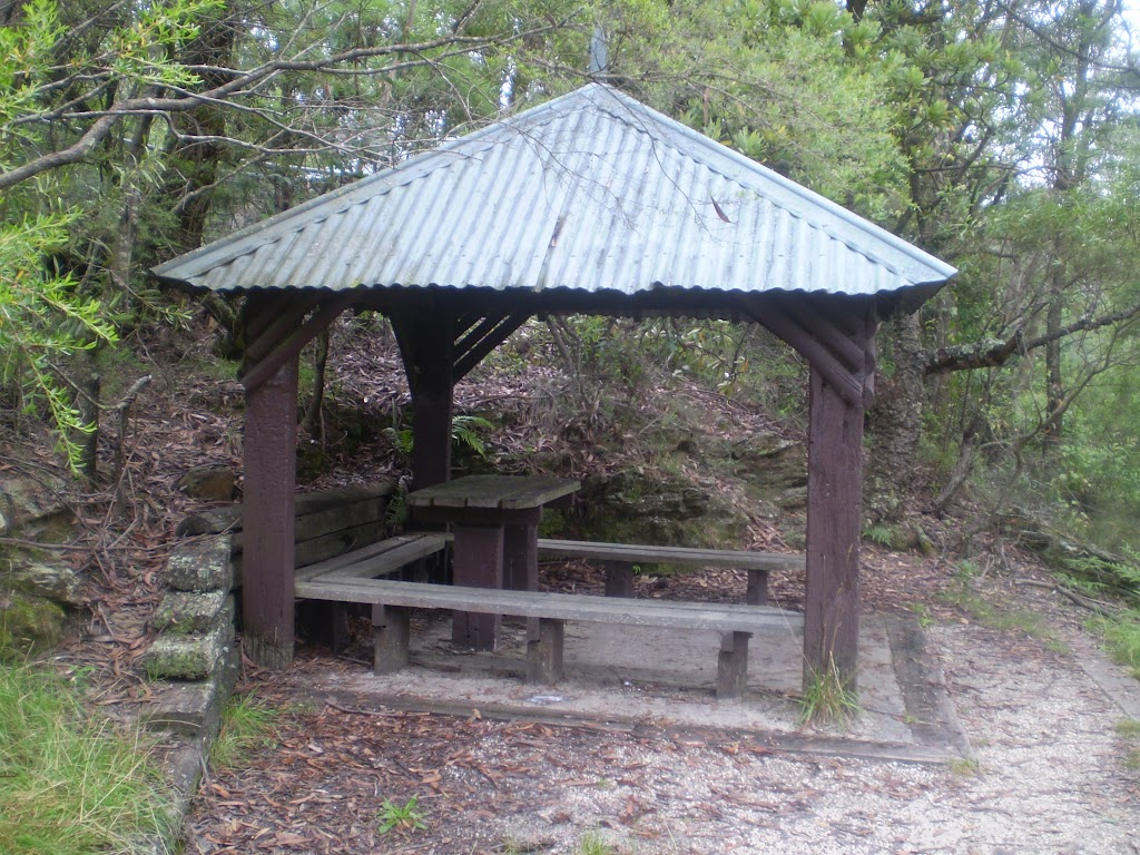 Picnic shelter along Shortcut track