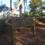 Sign at Mt Ku-ring-gai track head (71929)