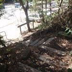 steps down to Berowra Waters