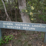 Int of valley of the waters and Queen Victoria Lookout
